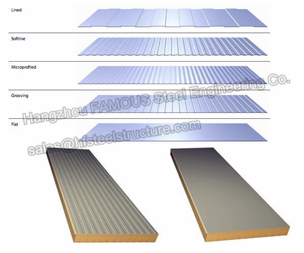 Industrial Metal Building Sandwich Panel : Eps sandwich panels