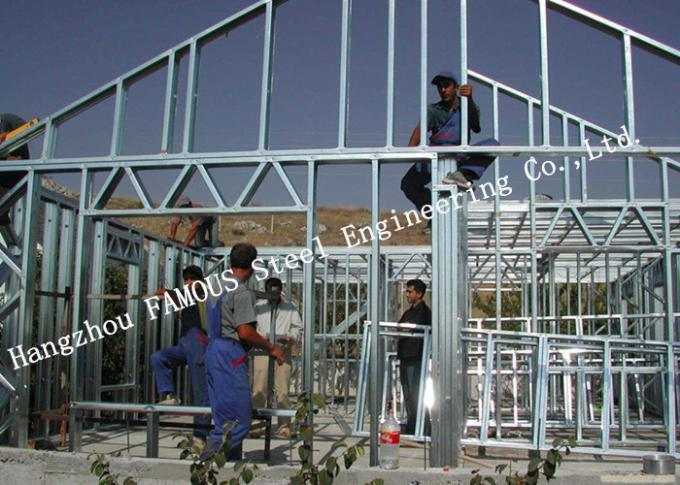 Modern Steel Structure Light Steel Villa Heat Insulation House Quick Installation