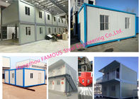 Wind Resistant And Anti-seismic Modular Container Homes With Quick Frames Design