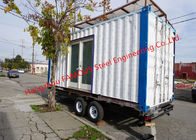 Modern Design Shipping Container House On Wheels Tiny Container Home With AUS/NZ Approved