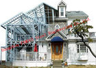 China Customized Light Steel Villa Design And Fabrication Based On Various Standards factory