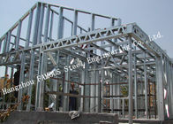 Prefab House Light Steel Villa Metal Buildings With Welded Frame Easy Construction