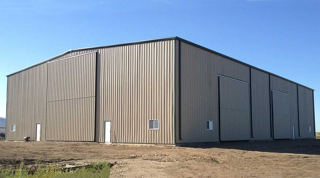 ASCI Standard PEB Metal Buildings For Industrial Factories 220' x 150' x 24'
