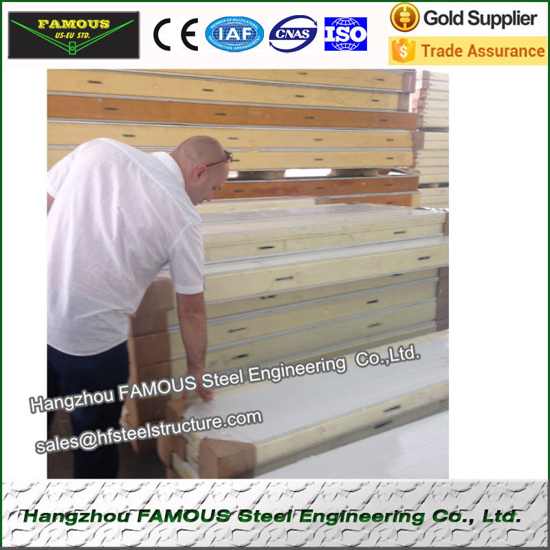 Pu sandwich panels for Cold Room Heat Insulation