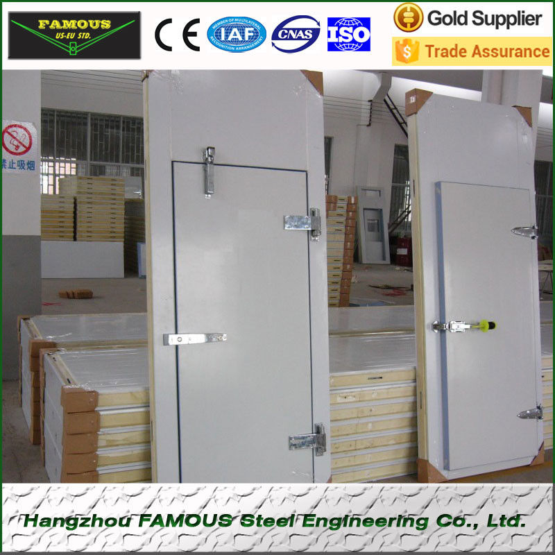Cold storage room hinged doors/swing doors