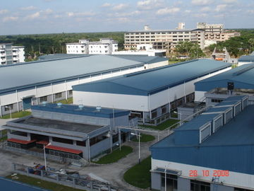 China PEB Metal Buildings For Concrete Mills & Warehouses distributor