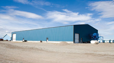 China Affordable PEB Metal Buildings For Industrial Factories 250' x 150' x 24' distributor