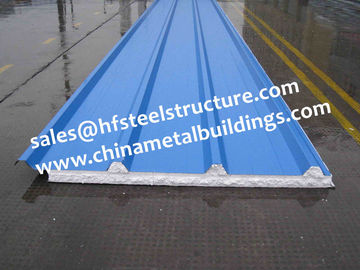 China China supply 950mm Width EPS Sandwich Panel for Roof And Cold Storage distributor