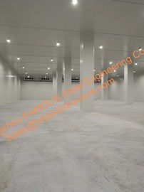 China Refrigeration equipment cold room used for supermarket fish and meat keeping frozen distributor
