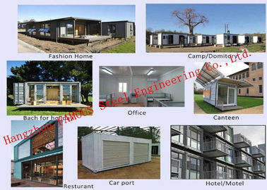 China Modern Environmental Foldable Prefab Container House Multi-functional Mobile House Easy Assemble distributor