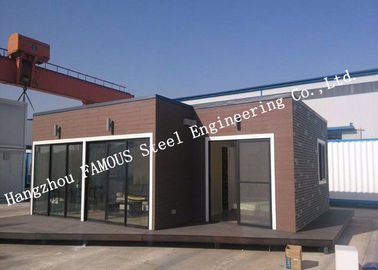 China European Style Quick Assembled House For Accommodation Modular Container Units With Custom Size distributor