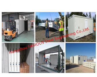 China Easy Assembly Prefabricated Movable Container House With Low Cost Prefab Folding Container Homes distributor