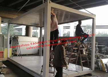 China Labor Saving Prefab Economic Container House Easy And Quick To Assemble distributor