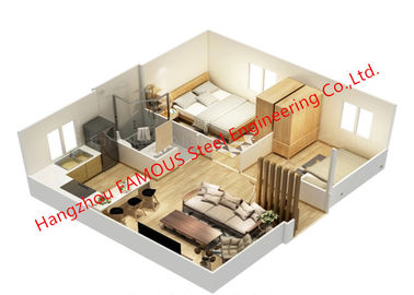 China Standard Luxury Folding Integrated House Fast Assembly Expandable Container House For Sale distributor