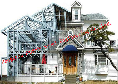 China Customized Light Steel Villa Design And Fabrication Based On Various Standards distributor