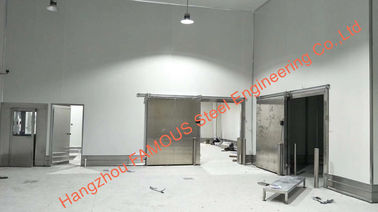 China Steel building walk in cooler & freezer cold room fishing equipment chiller for restaurant using distributor